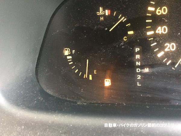 ガソリン燃料メーター