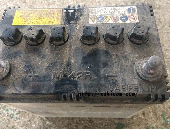 M-42Rバッテリー